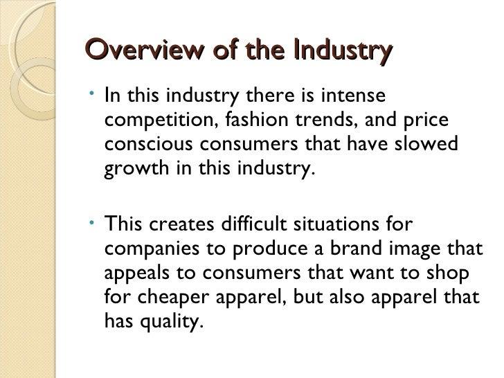 Nike industry analysis presentation