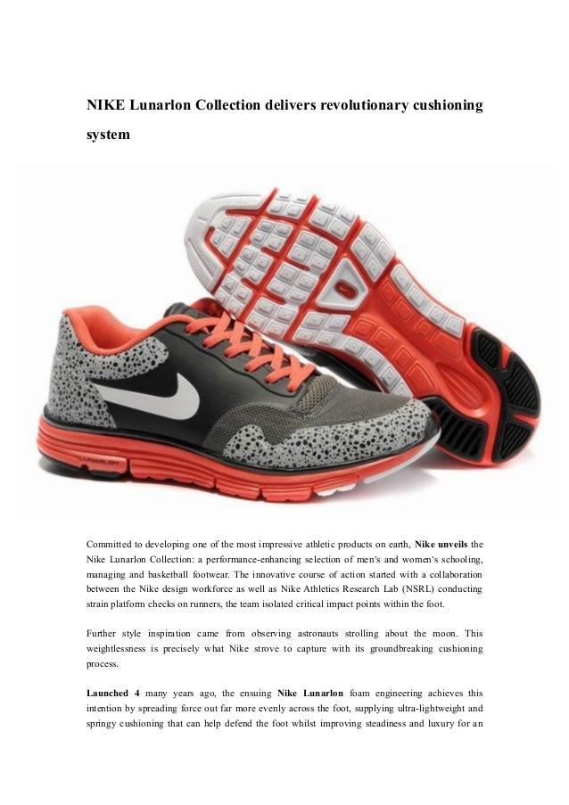 c2cbeba03f47a Nike lunarlon collection delivers revolutionary cu