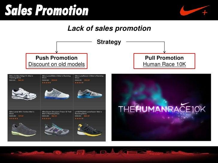 caos Genuino Piscina  nike sales promotion strategy