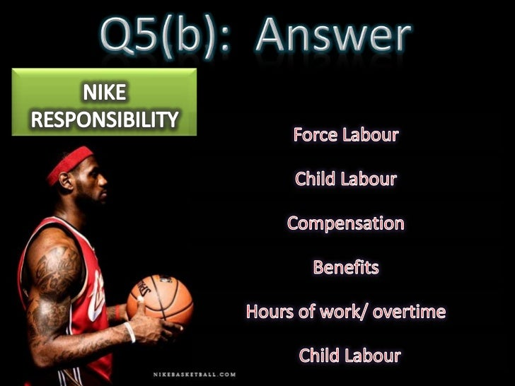 Nike child labor essays