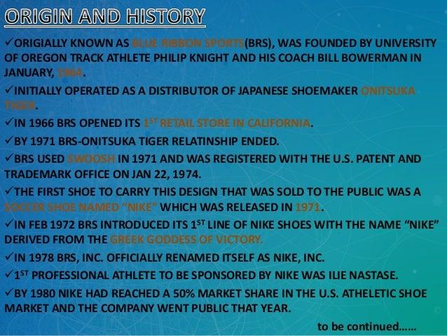 Nike presentation Slide 3