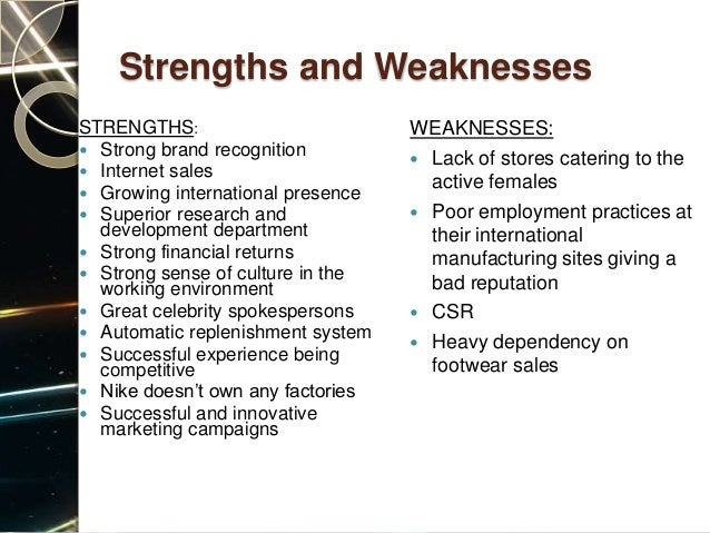 strengths and weaknesses in a 7 eleven store Read weakness of seven eleven free essay and over 88,000 other he also emphasized such things as the use of modern stores operating license (iutm) every 7-eleven outlets must personal strengths and weaknesses we as individuals have to realize the importance of our strengths and.