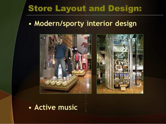 nike store blueprint
