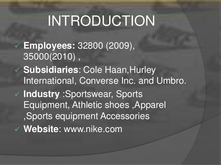 nike financial analysis An investment analysis case study: nike this case is a group project that is due on march 28 just before class begins at 1030 format : each group will turn in one report (sounds obvious, but might as well make it.