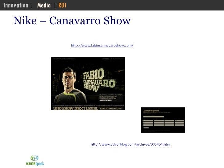 Nike – Canavarro Show