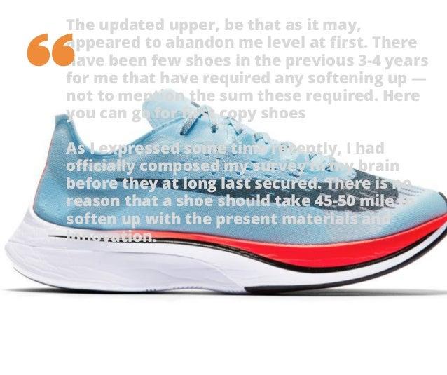 Menos Servicio sentido común  Nike zoom vaporfly 4% review 111