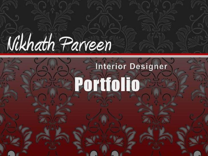 Interior Designer<br />Portfolio<br />
