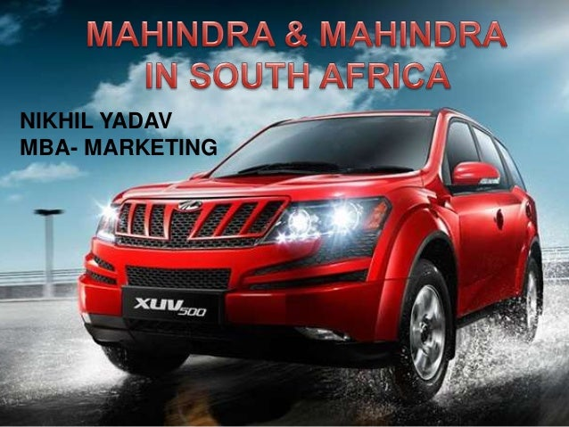 Mahindra Case Study | Vehicles | Business - Scribd