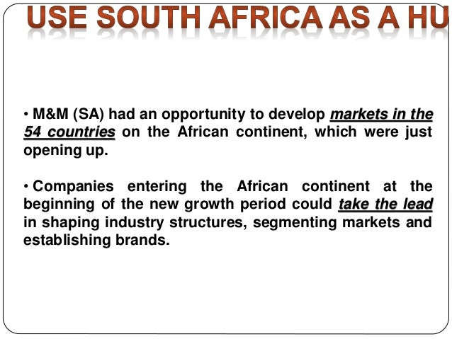 Mahindra & Mahindra in South Africa [10 Steps] Case Study ...