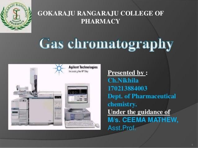 GOKARAJU RANGARAJU COLLEGE OF PHARMACY  Presented by : Ch.Nikhila 170213884003 Dept. of Pharmaceutical chemistry. Under th...