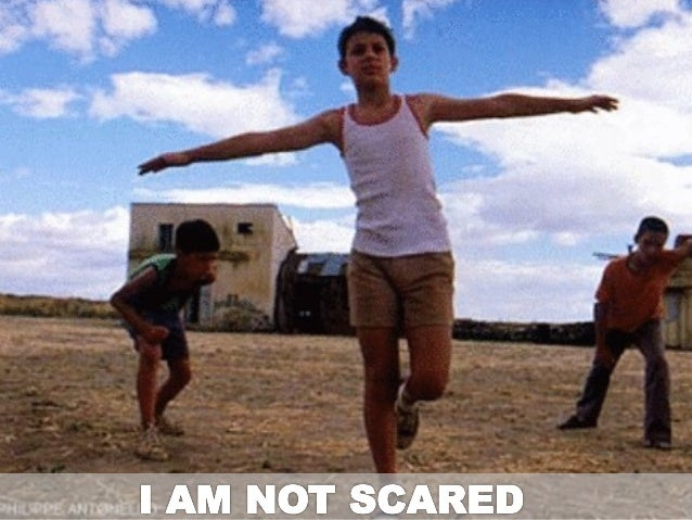 I am not scared - Non Violence EU project 16/10/2012