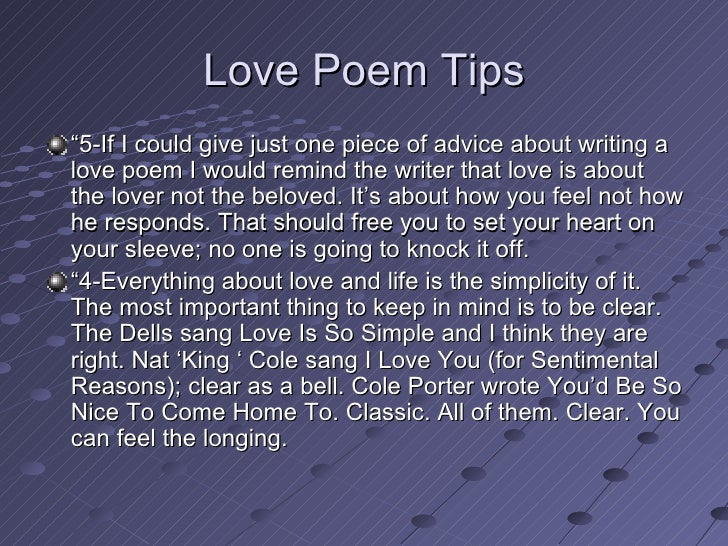 romantic ideas writing love poem your beloved tips advice