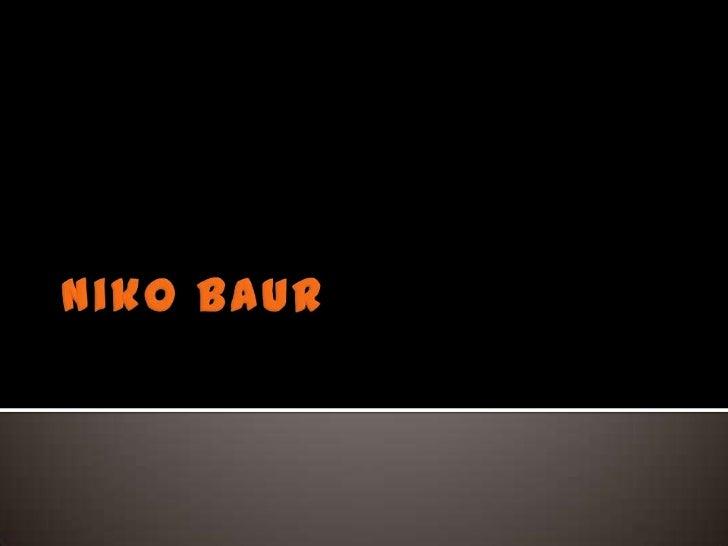 Niko Baur<br />