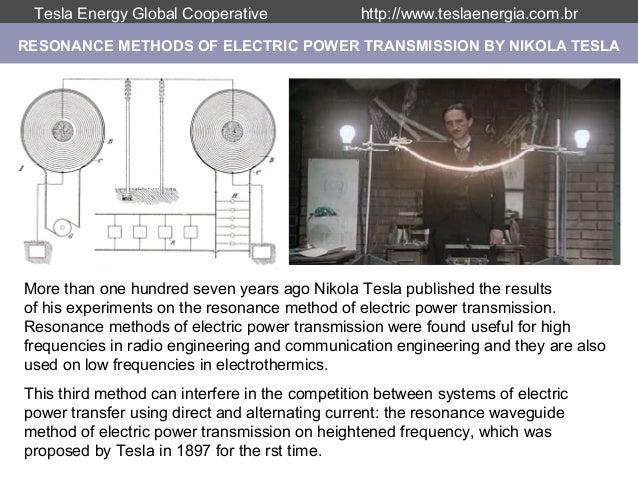 Nikola Tesla Institute - Earth Resonance Project Slide 3