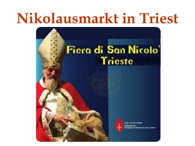 Nikolausmarkt in Triest