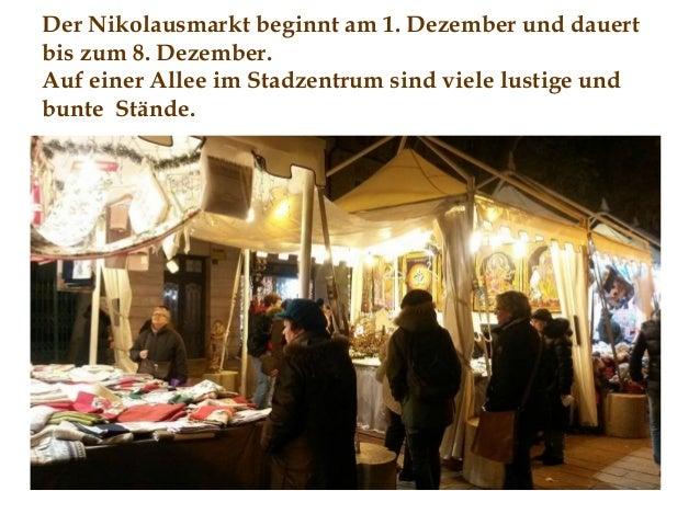 Nikolausmarkt in Triest Slide 2