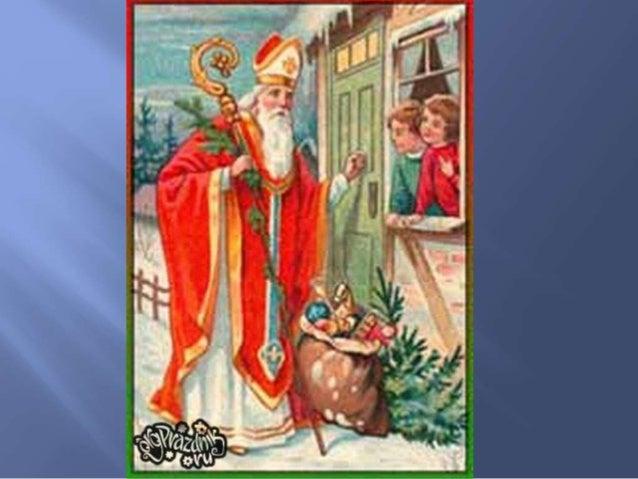 Крестьянская поговорка: - Regnet es an Nikolaus - wird der Winter streng, ein Graus. - Коль дождит на Николая – знать, зим...