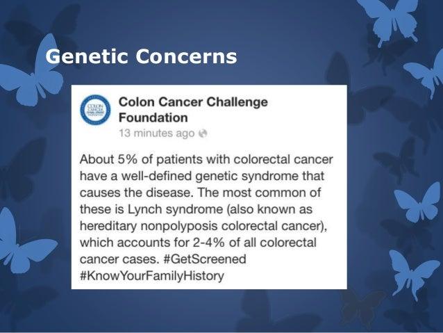 Colon Cancer Presentation My Impact Story