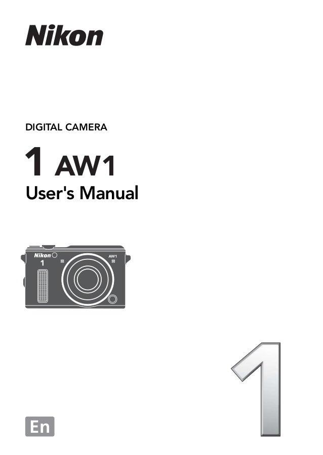 Nikon 1 aw1 | user manual – devicemanuals.
