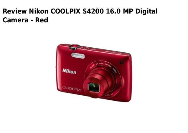 Review Nikon COOLPIX S4200 16.0 MP DigitalCamera - Red