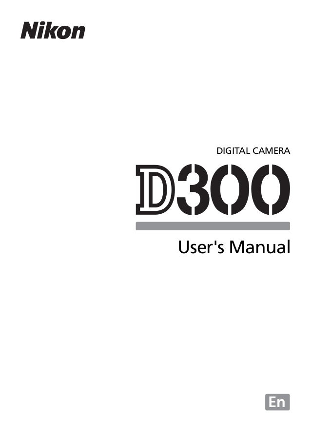 nikon d300 eng manual noprint rh slideshare net d300 instruction manual d300 user manual