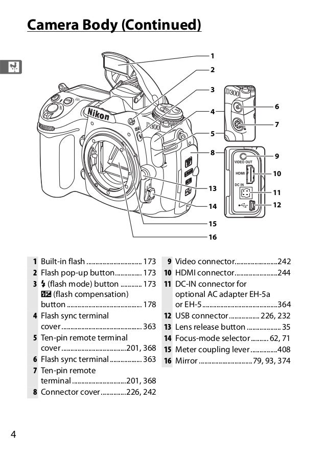 Nikon d300 eng manual (noprint)