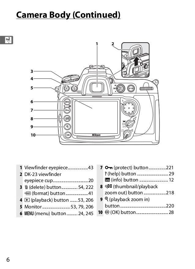 nikon d300 eng manual noprint rh slideshare net nikon d300 manual focus lens nikon d300 manual pdf download