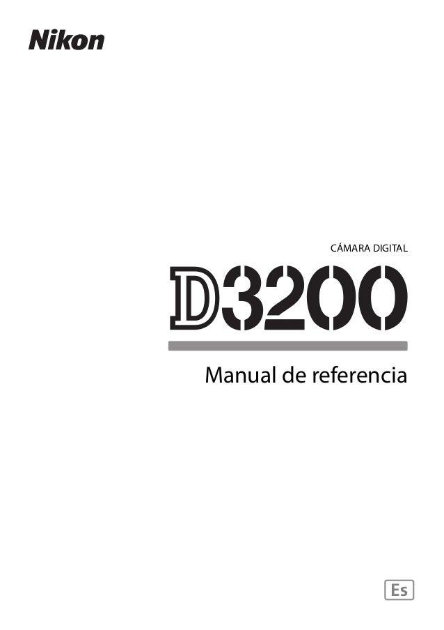 Nikon d3200 es
