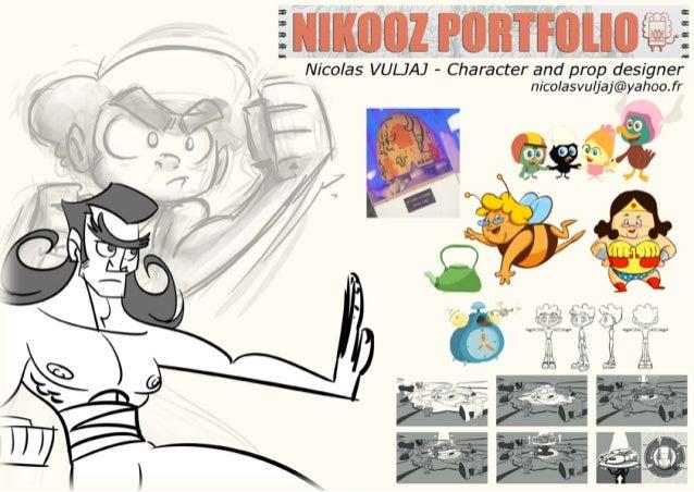 Nicolas VULJAJ portfolio 2014