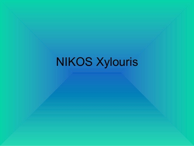 NIKOS Xylouris