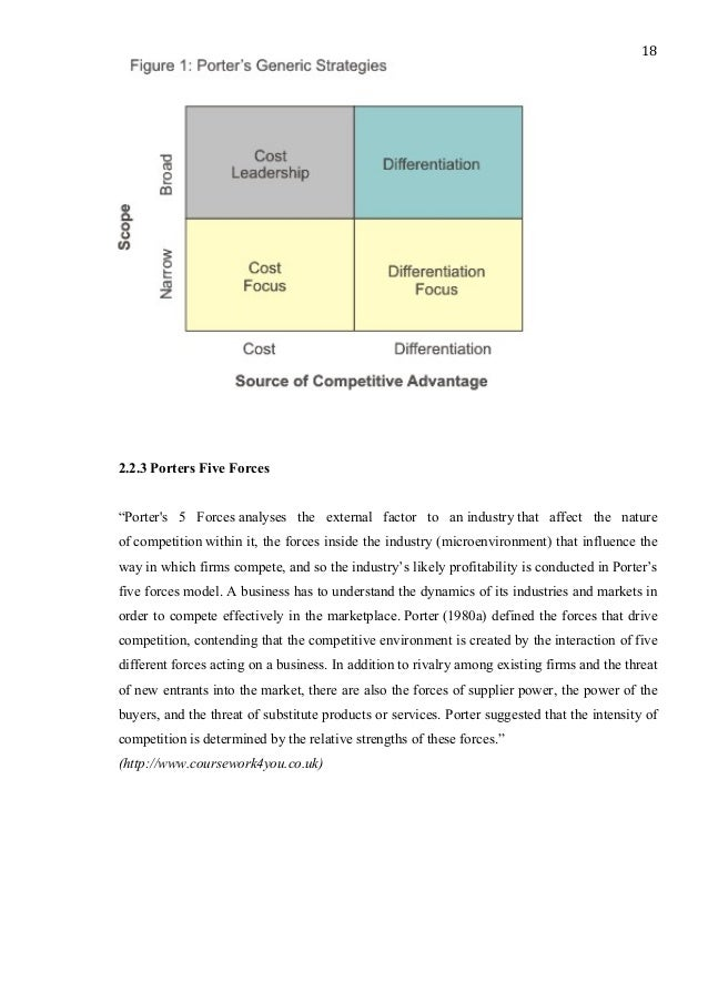 cost leadership term paper A critique of porter's cost leadership and differentiation strategies cost leadership requires cost leadership and differentiation strategies—as he.