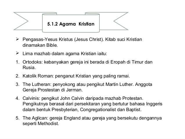 Nilai Agama dan Kepercayaan