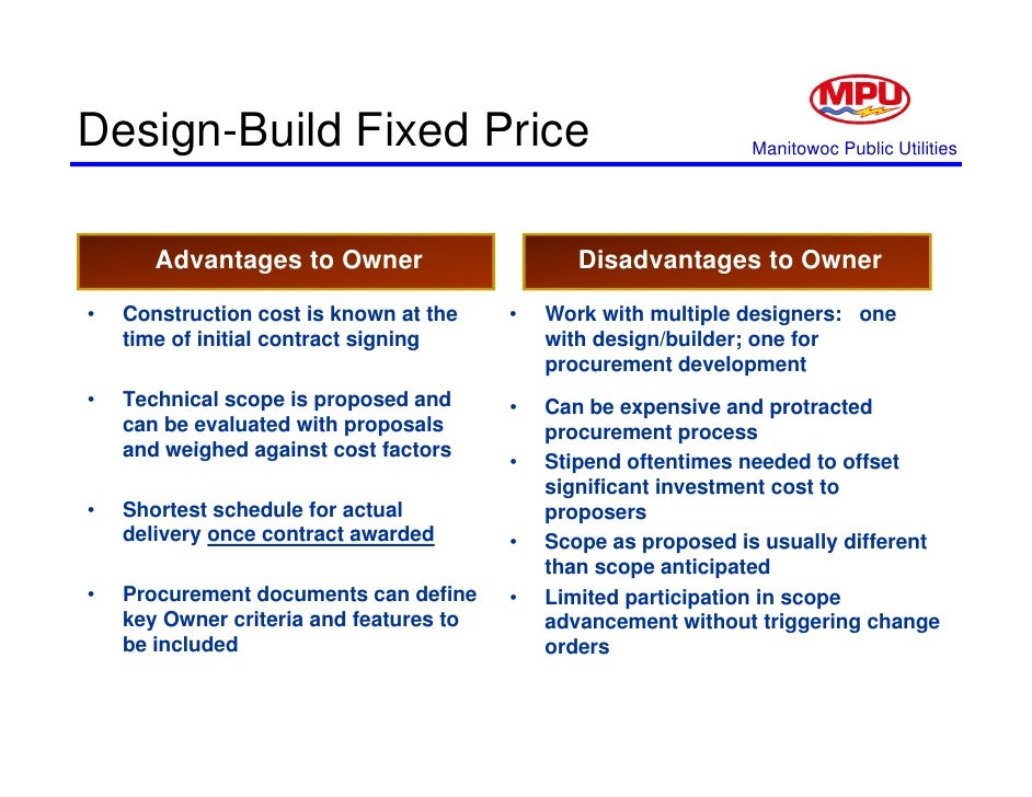 the advantages and disadvantages of the design build method in construction For those companies that decide to expand via new construction,  the advantages and disadvantages of construction  contractor that can build in your .