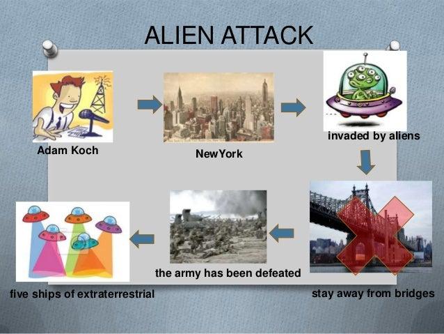 ALIEN ATTACK                                                            invaded by aliens     Adam Koch                   ...