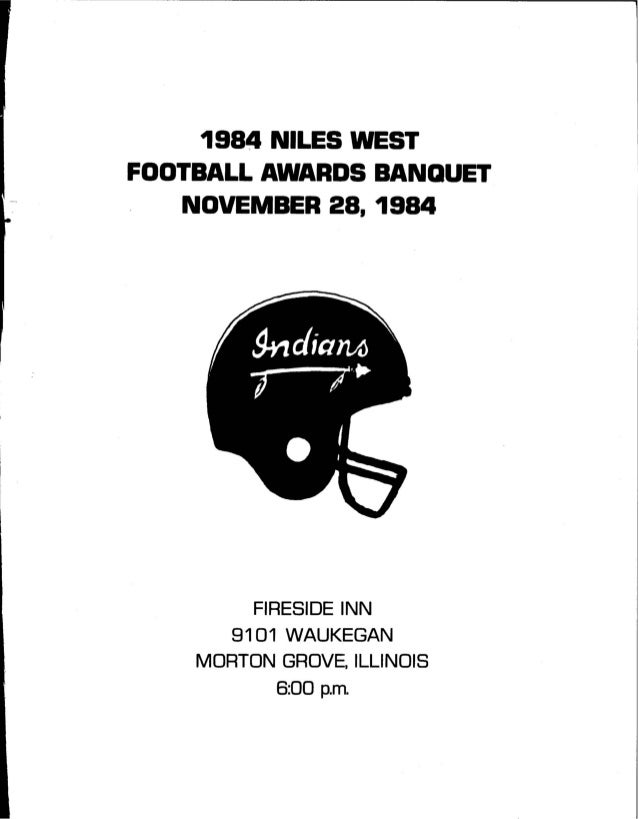 Niles West Football Award Banquet 84