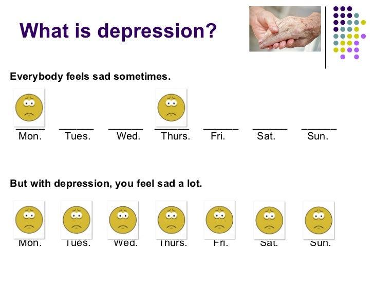 Elderly Depression Slide 2