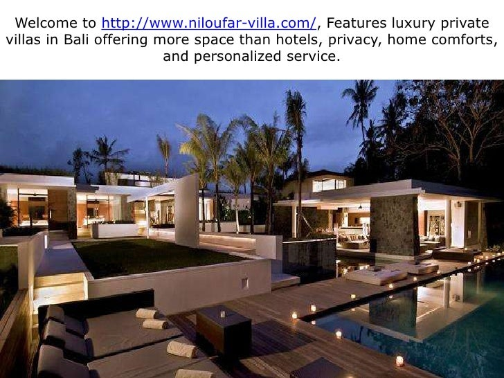 Welcome to http://www.niloufar-villa.com/, Features luxury private villas in Bali offering more space than hotels, privacy...