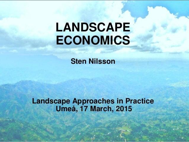 Landscape Economics
