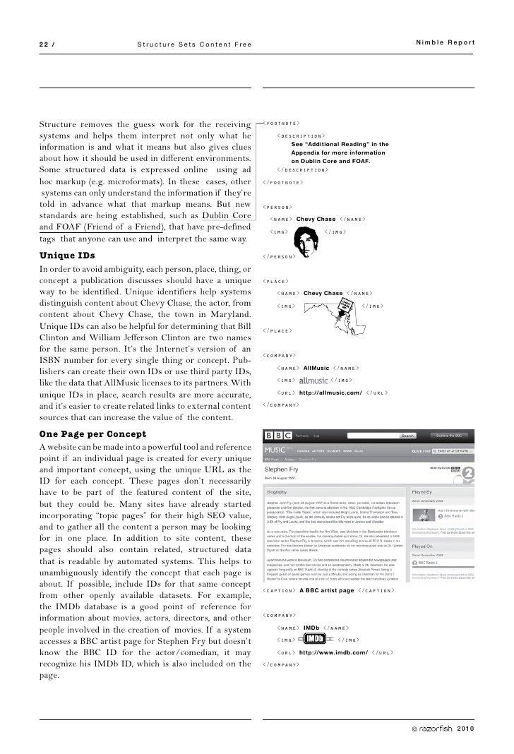 22 /                       Structure Sets Content Free                                                  Nimble Report     ...