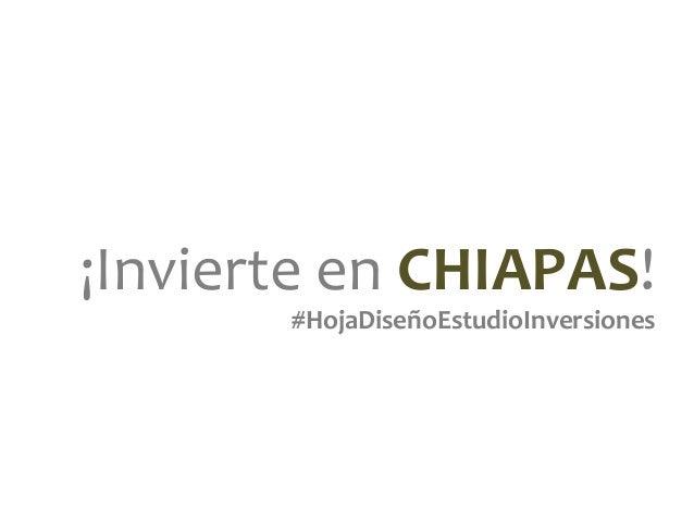 Oportunidad de negocio en el sector turismo en Chiapas.   Slide 2