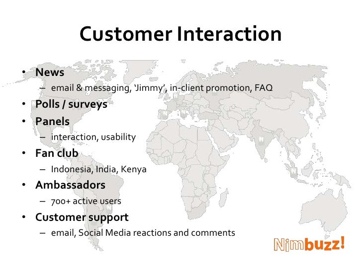 Customer Interaction<br />News <br />email & messaging, 'Jimmy', in-client promotion, FAQ <br />Polls / surveys<br />Panel...