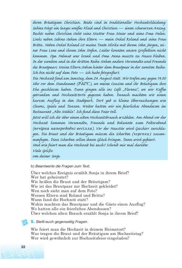 Brief an das brautpaar von den eltern