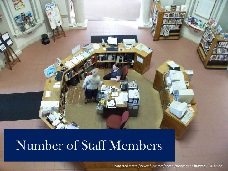 Number of Staff Members<br />Photo credit: http://www.flickr.com/photos/manchesterlibrary/2630418855/<br />
