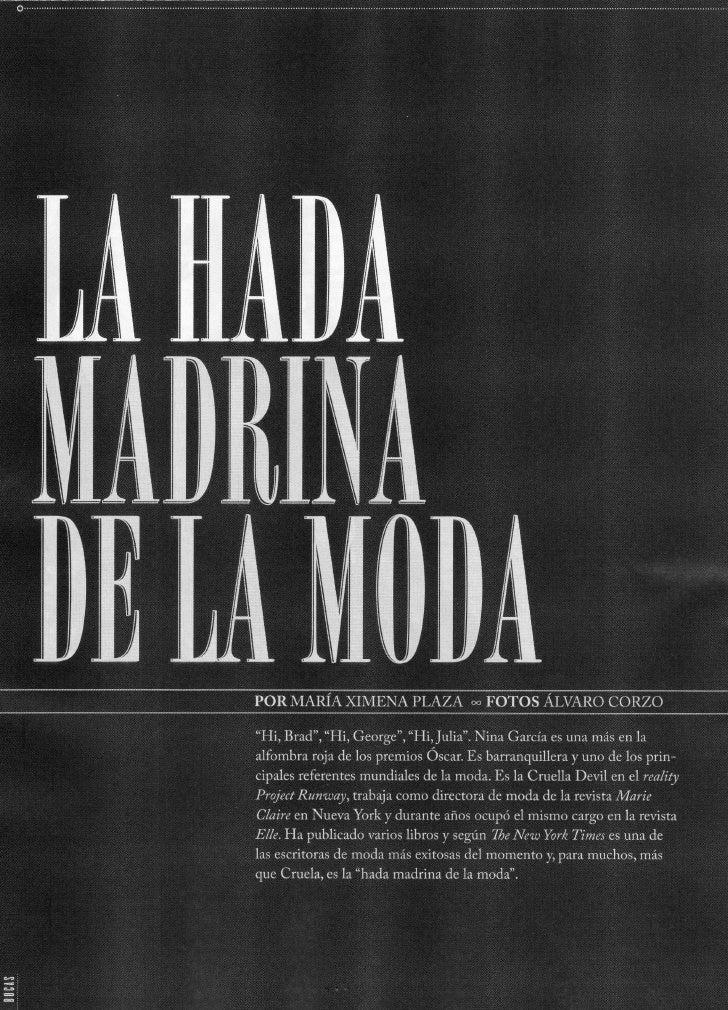 La Hada Madrina de la Moda