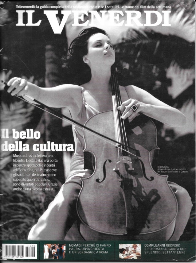 Nina Kotova: Il VENERDI Cover. Cover Story