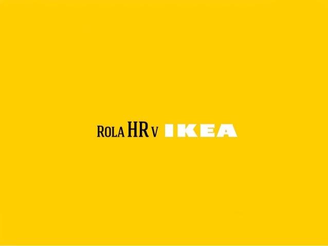 Nina Malakova - Rola HR v Ikea (HRLeaders 2014)