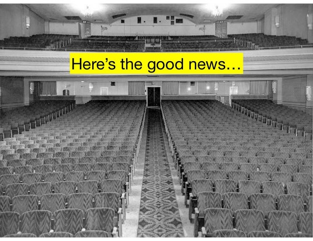 Here's the good news…