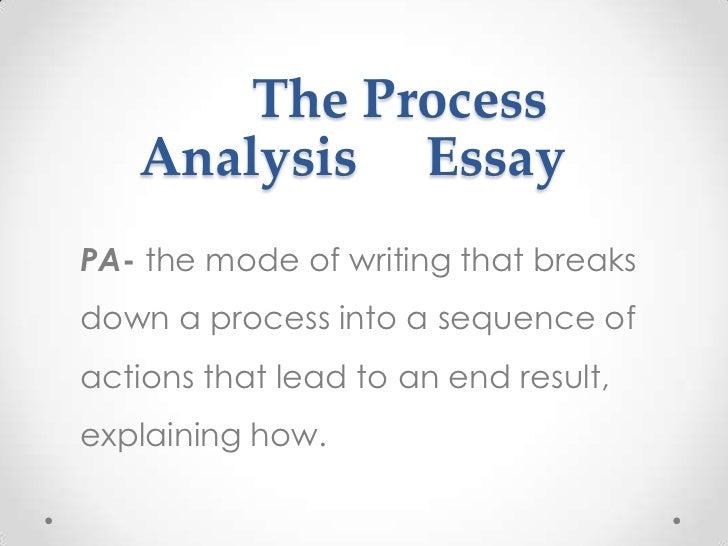nine modes of writing 7