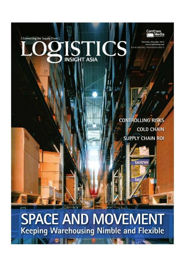 Nine ways warehousing adds value -logistic insight asia november-december 2012