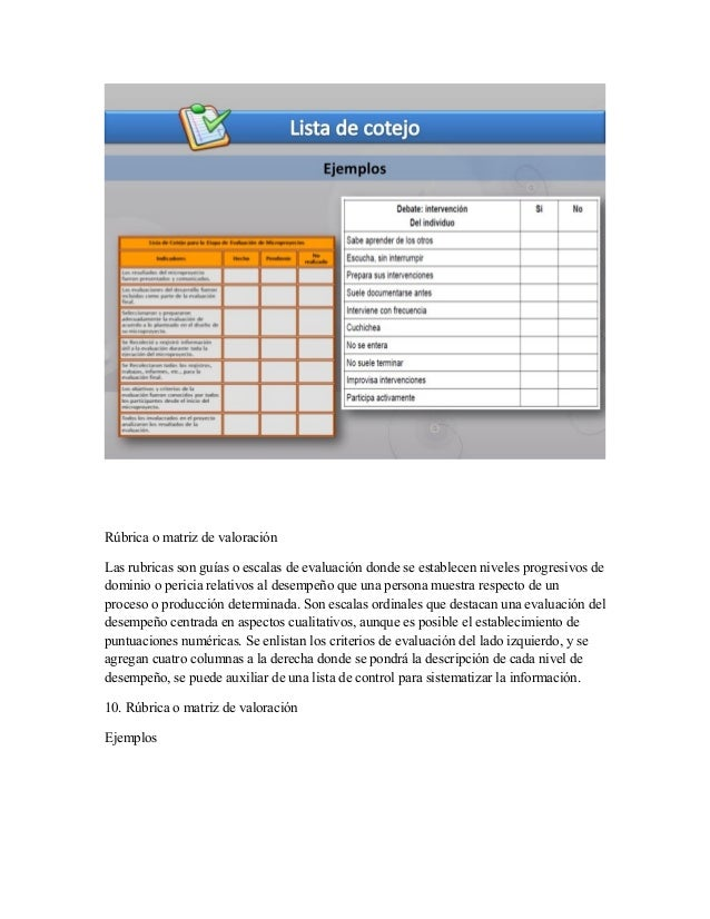INSTRUMENTO DE EVALUACION  Slide 2